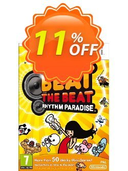 Beat the Beat: Rhythm Paradise Wii U - Game Code Coupon discount Beat the Beat: Rhythm Paradise Wii U - Game Code Deal - Beat the Beat: Rhythm Paradise Wii U - Game Code Exclusive Easter Sale offer for iVoicesoft