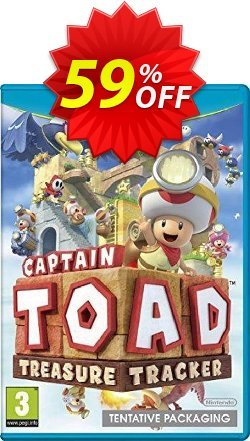 Captain Toad: Treasure Tracker Nintendo Wii U - Game Code Coupon discount Captain Toad: Treasure Tracker Nintendo Wii U - Game Code Deal. Promotion: Captain Toad: Treasure Tracker Nintendo Wii U - Game Code Exclusive Easter Sale offer for iVoicesoft