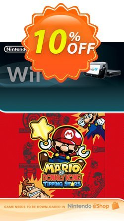 Mario vs. Donkey Kong Tipping Stars Wii U - Game Code Coupon discount Mario vs. Donkey Kong Tipping Stars Wii U - Game Code Deal - Mario vs. Donkey Kong Tipping Stars Wii U - Game Code Exclusive Easter Sale offer for iVoicesoft