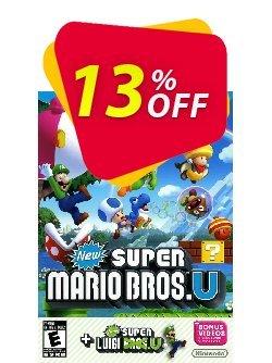 New Super Mario Bros + New Super Luigi Wii U - Game Code Coupon discount New Super Mario Bros + New Super Luigi Wii U - Game Code Deal. Promotion: New Super Mario Bros + New Super Luigi Wii U - Game Code Exclusive Easter Sale offer for iVoicesoft