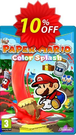 Paper Mario Color Splash Wii U - Game Code Coupon discount Paper Mario Color Splash Wii U - Game Code Deal - Paper Mario Color Splash Wii U - Game Code Exclusive Easter Sale offer for iVoicesoft