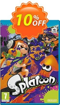 Splatoon Nintendo Wii U - Game Code Coupon discount Splatoon Nintendo Wii U - Game Code Deal - Splatoon Nintendo Wii U - Game Code Exclusive Easter Sale offer for iVoicesoft