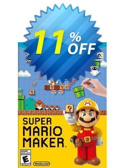 Super Mario Maker Nintendo Wii U - Game Code Coupon discount Super Mario Maker Nintendo Wii U - Game Code Deal - Super Mario Maker Nintendo Wii U - Game Code Exclusive Easter Sale offer for iVoicesoft