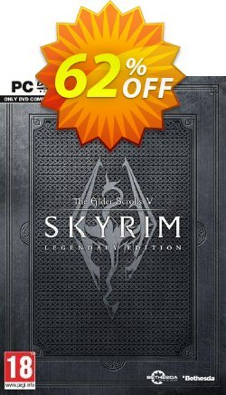 The Elder Scrolls V 5: Skyrim Legendary Edition - PC  Coupon, discount The Elder Scrolls V 5: Skyrim Legendary Edition (PC) Deal. Promotion: The Elder Scrolls V 5: Skyrim Legendary Edition (PC) Exclusive offer for iVoicesoft