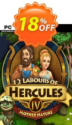 12 Labours of Hercules IV Mother Nature - Platinum Edition PC Coupon discount 12 Labours of Hercules IV Mother Nature (Platinum Edition) PC Deal - 12 Labours of Hercules IV Mother Nature (Platinum Edition) PC Exclusive Easter Sale offer for iVoicesoft