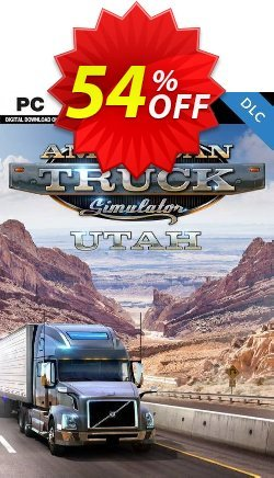 American Truck Simulator PC - Utah DLC Coupon discount American Truck Simulator PC - Utah DLC Deal - American Truck Simulator PC - Utah DLC Exclusive Easter Sale offer for iVoicesoft