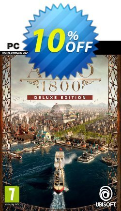 Anno 1800 Deluxe Edition PC Coupon discount Anno 1800 Deluxe Edition PC Deal - Anno 1800 Deluxe Edition PC Exclusive Easter Sale offer for iVoicesoft