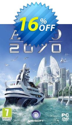 Anno 2070 PC Coupon discount Anno 2070 PC Deal - Anno 2070 PC Exclusive Easter Sale offer for iVoicesoft