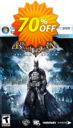 Batman: Arkham Asylum PC Coupon discount Batman: Arkham Asylum PC Deal - Batman: Arkham Asylum PC Exclusive Easter Sale offer for iVoicesoft