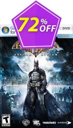 Batman: Arkham Asylum PC Coupon discount Batman: Arkham Asylum PC Deal - Batman: Arkham Asylum PC Exclusive Easter Sale offer for iVoicesoft