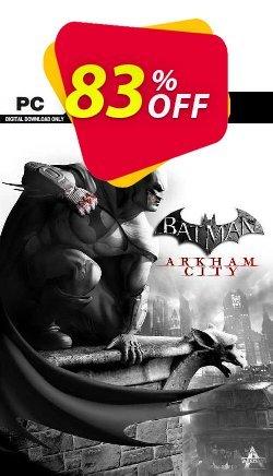 Batman: Arkham City - PC  Coupon discount Batman: Arkham City (PC) Deal - Batman: Arkham City (PC) Exclusive Easter Sale offer for iVoicesoft