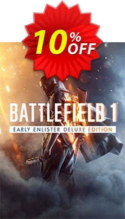 Battlefield 1 Early Enlister Deluxe Edition PC Coupon discount Battlefield 1 Early Enlister Deluxe Edition PC Deal - Battlefield 1 Early Enlister Deluxe Edition PC Exclusive Easter Sale offer for iVoicesoft