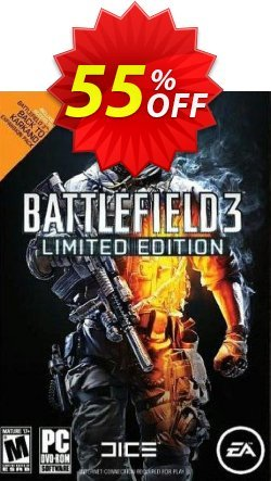 Battlefield 3 Limited Edition PC Coupon discount Battlefield 3 Limited Edition PC Deal - Battlefield 3 Limited Edition PC Exclusive Easter Sale offer for iVoicesoft