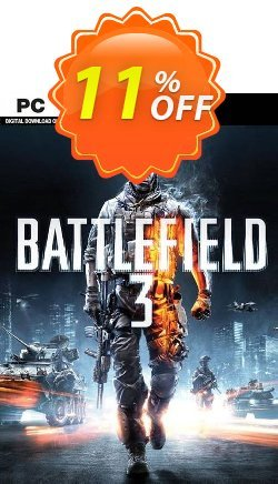 Battlefield 3 - PC  Coupon discount Battlefield 3 (PC) Deal - Battlefield 3 (PC) Exclusive Easter Sale offer for iVoicesoft