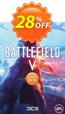 Battlefield V 5 PC + BETA Coupon discount Battlefield V 5 PC + BETA Deal - Battlefield V 5 PC + BETA Exclusive Easter Sale offer for iVoicesoft