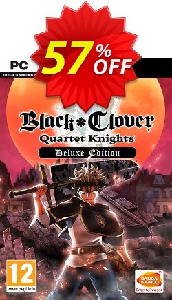 Black Clover: Quartet Knights Deluxe Edition PC Coupon discount Black Clover: Quartet Knights Deluxe Edition PC Deal - Black Clover: Quartet Knights Deluxe Edition PC Exclusive Easter Sale offer for iVoicesoft