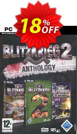 Blitzkrieg 2 Anthology PC Coupon discount Blitzkrieg 2 Anthology PC Deal - Blitzkrieg 2 Anthology PC Exclusive Easter Sale offer for iVoicesoft