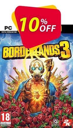 Borderlands 3 PC + DLC - US/AUS/JP  Coupon discount Borderlands 3 PC + DLC (US/AUS/JP) Deal - Borderlands 3 PC + DLC (US/AUS/JP) Exclusive Easter Sale offer for iVoicesoft