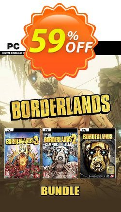 Borderlands Bundle PC Coupon discount Borderlands Bundle PC Deal - Borderlands Bundle PC Exclusive Easter Sale offer for iVoicesoft
