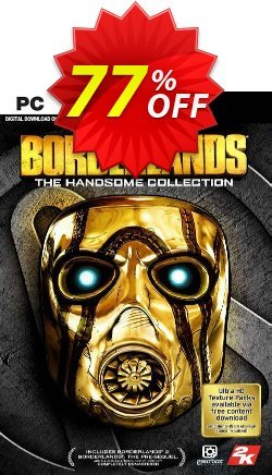 Borderlands: The Handsome Collection PC - WW  Coupon discount Borderlands: The Handsome Collection PC (WW) Deal - Borderlands: The Handsome Collection PC (WW) Exclusive Easter Sale offer for iVoicesoft