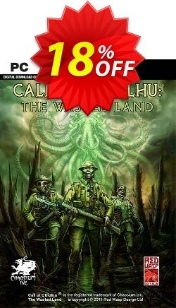 Call of Cthulhu The Wasted Land PC Coupon discount Call of Cthulhu The Wasted Land PC Deal - Call of Cthulhu The Wasted Land PC Exclusive Easter Sale offer for iVoicesoft