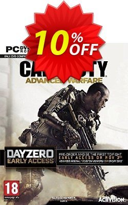 Call of Duty - COD : Advanced Warfare - Day Zero Edition PC Coupon discount Call of Duty (COD): Advanced Warfare - Day Zero Edition PC Deal - Call of Duty (COD): Advanced Warfare - Day Zero Edition PC Exclusive Easter Sale offer for iVoicesoft
