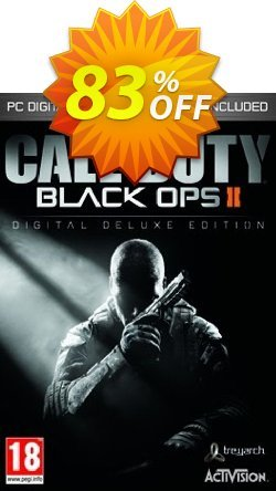 Call of Duty - COD Black Ops II 2 Digital Deluxe Edition PC - GERMANY  Coupon discount Call of Duty (COD) Black Ops II 2 Digital Deluxe Edition PC (GERMANY) Deal - Call of Duty (COD) Black Ops II 2 Digital Deluxe Edition PC (GERMANY) Exclusive Easter Sale offer for iVoicesoft