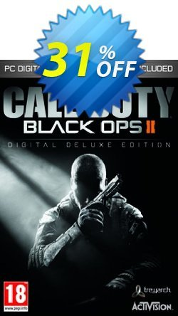 Call of Duty - COD Black Ops II 2 Digital Deluxe Edition PC Coupon discount Call of Duty (COD) Black Ops II 2 Digital Deluxe Edition PC Deal - Call of Duty (COD) Black Ops II 2 Digital Deluxe Edition PC Exclusive Easter Sale offer for iVoicesoft