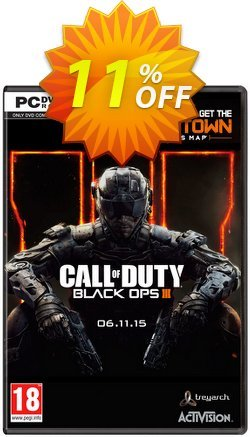 Call of Duty - COD : Black Ops III 3 + Nuketown DLC - PC  Coupon discount Call of Duty (COD): Black Ops III 3 + Nuketown DLC (PC) Deal - Call of Duty (COD): Black Ops III 3 + Nuketown DLC (PC) Exclusive Easter Sale offer for iVoicesoft