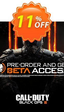 Call of Duty - COD : Black Ops III 3 + Beta Access - PC  Coupon discount Call of Duty (COD): Black Ops III 3 + Beta Access (PC) Deal - Call of Duty (COD): Black Ops III 3 + Beta Access (PC) Exclusive Easter Sale offer for iVoicesoft