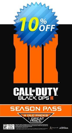 Call of Duty - COD : Black Ops III 3 Season Pass - PC  Coupon discount Call of Duty (COD): Black Ops III 3 Season Pass (PC) Deal - Call of Duty (COD): Black Ops III 3 Season Pass (PC) Exclusive Easter Sale offer for iVoicesoft