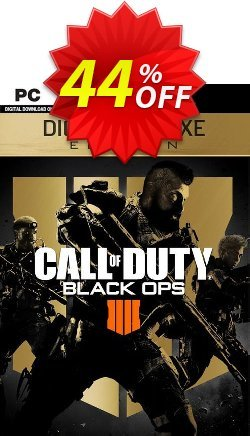 Call of Duty - COD Black Ops 4 Deluxe Edition PC - EU  Coupon discount Call of Duty (COD) Black Ops 4 Deluxe Edition PC (EU) Deal - Call of Duty (COD) Black Ops 4 Deluxe Edition PC (EU) Exclusive Easter Sale offer for iVoicesoft