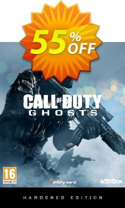 Call of Duty - COD Ghosts - Digital Hardened Edition PC Coupon discount Call of Duty (COD) Ghosts - Digital Hardened Edition PC Deal - Call of Duty (COD) Ghosts - Digital Hardened Edition PC Exclusive Easter Sale offer for iVoicesoft