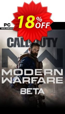 Call of Duty Modern Warfare Beta PC Coupon discount Call of Duty Modern Warfare Beta PC Deal - Call of Duty Modern Warfare Beta PC Exclusive Easter Sale offer for iVoicesoft