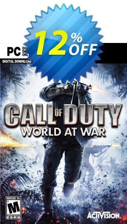 Call of Duty - COD World at War PC Coupon discount Call of Duty (COD) World at War PC Deal - Call of Duty (COD) World at War PC Exclusive Easter Sale offer for iVoicesoft