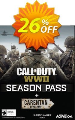 Call of Duty - COD WWII Season Pass PC Coupon discount Call of Duty (COD) WWII Season Pass PC Deal - Call of Duty (COD) WWII Season Pass PC Exclusive Easter Sale offer for iVoicesoft