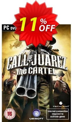 Call of Juarez - The Cartel - PC  Coupon discount Call of Juarez - The Cartel (PC) Deal - Call of Juarez - The Cartel (PC) Exclusive Easter Sale offer for iVoicesoft