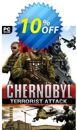 Chernobyl Terrorist Attack - PC  Coupon discount Chernobyl Terrorist Attack (PC) Deal. Promotion: Chernobyl Terrorist Attack (PC) Exclusive Easter Sale offer for iVoicesoft
