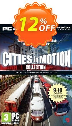 Cities in Motion Collection - PC  Coupon discount Cities in Motion Collection (PC) Deal - Cities in Motion Collection (PC) Exclusive Easter Sale offer for iVoicesoft