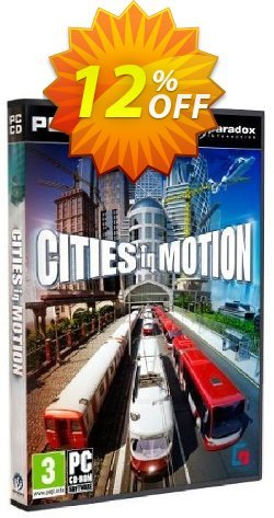 Cities In Motion - PC  Coupon discount Cities In Motion (PC) Deal - Cities In Motion (PC) Exclusive Easter Sale offer for iVoicesoft