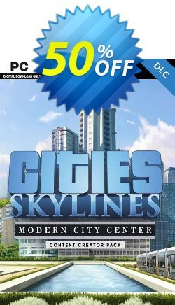 Cities: Skylines - Content Creator Pack Modern City Center PC Coupon discount Cities: Skylines - Content Creator Pack Modern City Center PC Deal - Cities: Skylines - Content Creator Pack Modern City Center PC Exclusive Easter Sale offer for iVoicesoft