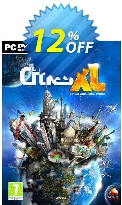 Cities XL - PC  Coupon discount Cities XL (PC) Deal - Cities XL (PC) Exclusive Easter Sale offer for iVoicesoft