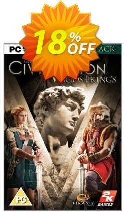 Civilization V 5 Gods and Kings - PC  Coupon discount Civilization V 5 Gods and Kings (PC) Deal - Civilization V 5 Gods and Kings (PC) Exclusive Easter Sale offer for iVoicesoft