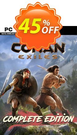 Conan Exiles - Complete Edition PC Coupon discount Conan Exiles - Complete Edition PC Deal - Conan Exiles - Complete Edition PC Exclusive Easter Sale offer for iVoicesoft