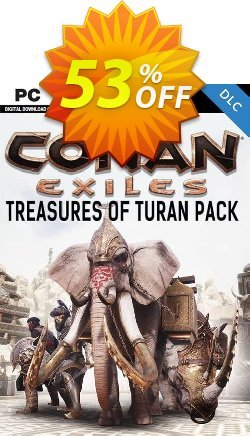 Conan Exiles - Treasures of Turan Pack DLC Coupon discount Conan Exiles - Treasures of Turan Pack DLC Deal - Conan Exiles - Treasures of Turan Pack DLC Exclusive Easter Sale offer for iVoicesoft