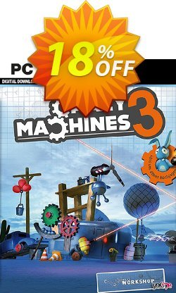 Crazy Machines 3 PC Coupon discount Crazy Machines 3 PC Deal - Crazy Machines 3 PC Exclusive Easter Sale offer for iVoicesoft