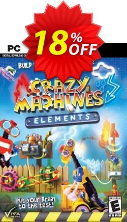 Crazy Machines Elements PC Coupon discount Crazy Machines Elements PC Deal - Crazy Machines Elements PC Exclusive Easter Sale offer for iVoicesoft