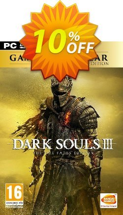 Dark Souls III 3 - The Fire Fades Edition - GOTY PC Coupon discount Dark Souls III 3 - The Fire Fades Edition (GOTY) PC Deal - Dark Souls III 3 - The Fire Fades Edition (GOTY) PC Exclusive Easter Sale offer for iVoicesoft