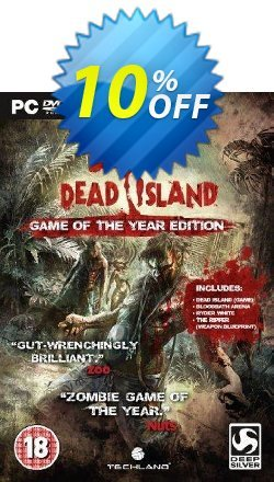 Dead Island - Game of the Year PC Coupon discount Dead Island - Game of the Year PC Deal - Dead Island - Game of the Year PC Exclusive Easter Sale offer for iVoicesoft
