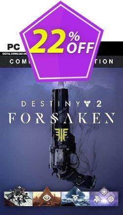 Destiny 2 Forsaken Complete Collection PC - EU  Coupon discount Destiny 2 Forsaken Complete Collection PC (EU) Deal - Destiny 2 Forsaken Complete Collection PC (EU) Exclusive Easter Sale offer for iVoicesoft